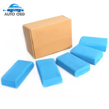 5pcs/lot 3M Washer Cleaner Mud Auto Magic Sponge Brush Effective Clean 180g Blue Clean Clay Bar Easy Washing Car Care Tool