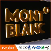 Waterproof store lighting backlit LED channel letter sign