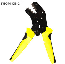 THOM KING 1PC Crimping Tool Crimping Plier 0.14-1.5mm2 Multi Tool Hands Crimp Tools(China)