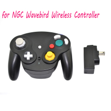 2.4GHz wavebird Wireless Game Controller Gamepad for Nintendo N GC gamecube for Wii Black