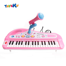 37 Keys Electone Mini Electronic Keyboard Musical Toy with Microphone, Educational Electone Piano Toy for Children