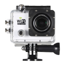 "2.0""LCD 12MP 4X Mini Camera 1080P Full HD 30FPS Wifi Sports Action Camera 140 Wide-Lens Sports DV FPV PC Video Camera Camcorder(China)"