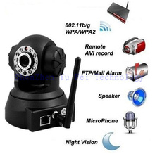 Security Day&Night Vision WPA Internet Wifi Wireless IP Camera(China)