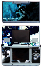 Black Rock 213 Vinyl Skin Sticker Protector for Nintendo DS NDS Original (fat) skins Stickers(China)