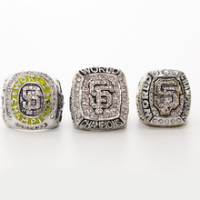 2010 2012 2014 SAN FRANCISCO GIANTS WORLD SERIES CHAMPIONSHIP RING, 3 Rings AS A SET