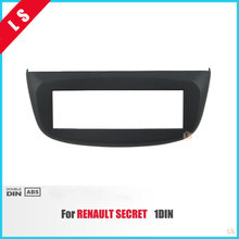 ABS 1 Din Car Refitting Radio Fascia for RENAULT SECRET 1DIN Dashboard CD Trim Installlation Kit Auto Stereo Interface Panel(China)