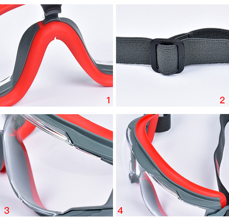 3M GA501 Safety Goggles Windproof Anti-Sand Painted Anti-fog Anti-shock Dustproof Professional Working Eyewear Protective Goggles (13)