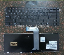 SSEA Free Shipping New US black Keyboard For Dell N4110 XPS 15 L502X VOSTRO 3450 V3450 V3550 Free Shipping Free Shipping(China)