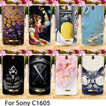 Phone Cases Sony Xperia E C1504 C1605 C150x 3.5 inch C1505 Dual C1604 Hard Back Covers Skin Housing Sheath Hood Bags - TAOYUNXI Official Store store