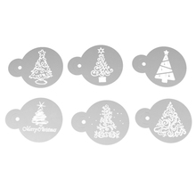 DIY Make Cake Tools Christmas Tree Cookie Stencil Fondant Mold Kitchen Cupcake Decoration Template - Heavenstores store