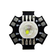 Free Shipping 4W RGBW High Power Led Modules Beads Lamp Light Red Green Blue White 350mA 10PCS/LOT