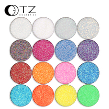 Glitterinjections Single Eye shadow Pressed Glitter Cosmetic Make Up Pressed Glitter Diamond Rainbow Fill in Magnet Palette(China)