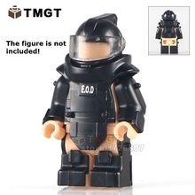 Single Sale PGPJ4027 World War Anti-explosion clothing Future Weapons SWAT Building Blocks Kids Toys Gifts Only The Armor
