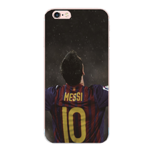 The best player Lionel messi cover For iphone 5 5S SE 5C 4S 7 6S 6 plus phone cases For Samsung Galaxy S4 S5 S3 S7 S6 edge G9250(China)