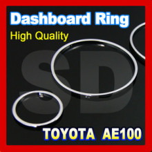 DASH Chrome Cluster Gauge DASH board Rings for Toyota 1.6L AE100 AE101 1993 1997