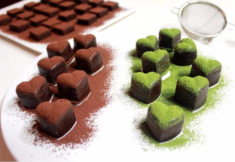 Silicone Chocolate Hearts Mold