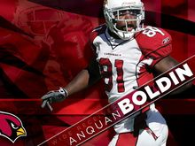 2101B Anquan Boldin Arizona Cardinals NFL-Wall Sticker Silk Poster Light Canvas Decoration(China)