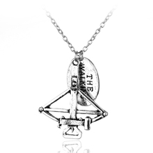 American Horror Television The Walking Dead Pendant DIY Handmade Charm Necklace Classic Vintage Women Men Chain Necklace Jewelry