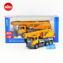 Free Shipping/Siku 1:87 Scale/Diecast Toy car Model/Scania Liebherr Crane/For Collection/Educational/Small/Festival gift