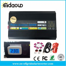 3200W/12VDC/220VAC/230V PURE SINE WAVE POWER INVERTER/PEAKING 6400W /CABLES(China)