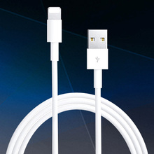Good Quality Latest White Wire 8pin USB Date Sync Charging Charger Cable For iPhone 5 5S 6 6S 7 7S 8 Plus For iPad ios 7 8 9 10