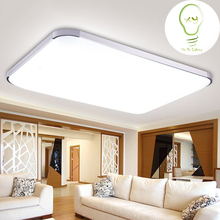 Slim modern LED Ceiling Lamp For Indoor Lighting plafon led Square Ceiling Fixture For Living Room Bedroom Lamparas high 220v96w