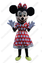 Foam Head Minnie mouse mascot costume Party costume()