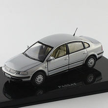 Grey 1:43 Volkswagen German VW PASSAT B5 Die Cast Model Car Metal Model Festival Gifts Vehicle