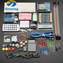 Official iSmaring New Version UNO R3 Basic Starter Learning Kit Upgrade Version for Arduino(China)