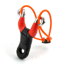 Alloy slingshot, outdoor hunting fishing shooting a slingshot. Outdoor shooting toys, children's classic toys.(China)