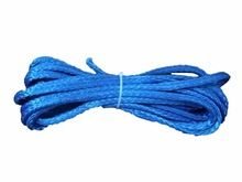 Free Shipping 10mm x 10m UHMWPE Cable Synthetic Winch Rope Towing Rope For 4x4/4WD/UTV/ATV/OFF-ROAD(China)