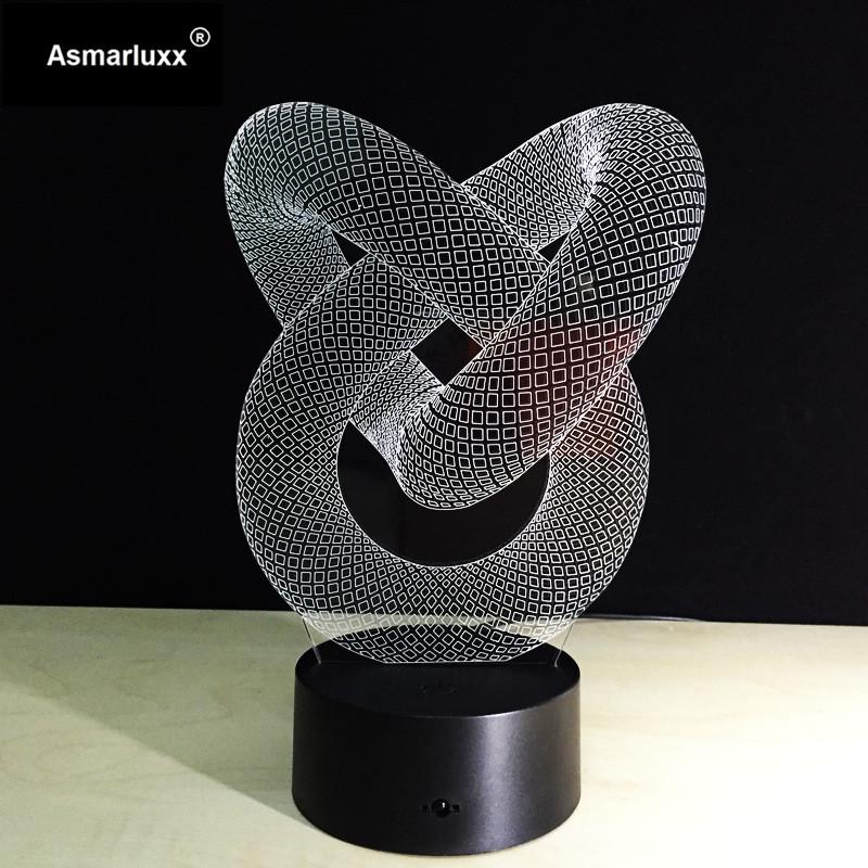 Asmarluxx 3d led lamp20043