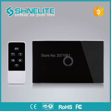1000W AU/US 1gang smart switch,RF433MHZ touch switch wall with remote control,AC110-240V,1gang remote control electrical switch