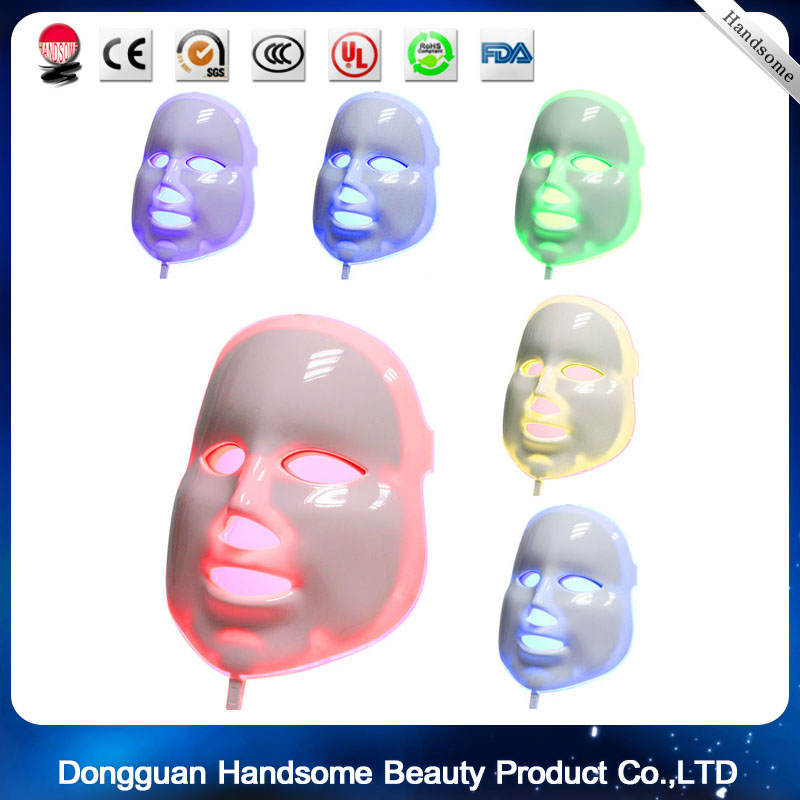 Photon LED mask whitening  Anti Aging Skin Care Face Facial Mask 3 Color Light Wrinkle Removal led face mask<br><br>Aliexpress