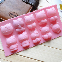 FDA DIY Silicone Pudding Moon Cake Mold Chocolate Mold for Kitchen Baking Soap Mold Fondant Mold