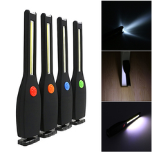2 Modes Magnet Multifunctional Portable COB LED Flashlight Working Lamp Torch(China)
