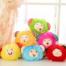 Hot  15cm NEW Cute Sheep Lamb Plush Toys Doll For Girl Children's Baby Birthday Holiday Gift Send Kids Lovely Soft kid Toy m57