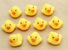 New One Dozen 12 Pieces Rubber Duck Duckie Baby Shower Water Birthday Favors Gift Vee Just For You Shower Birthday Party Gift(China)