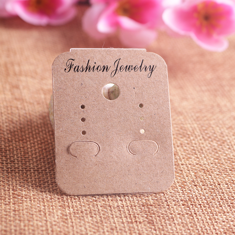 Jewelry earring card 077