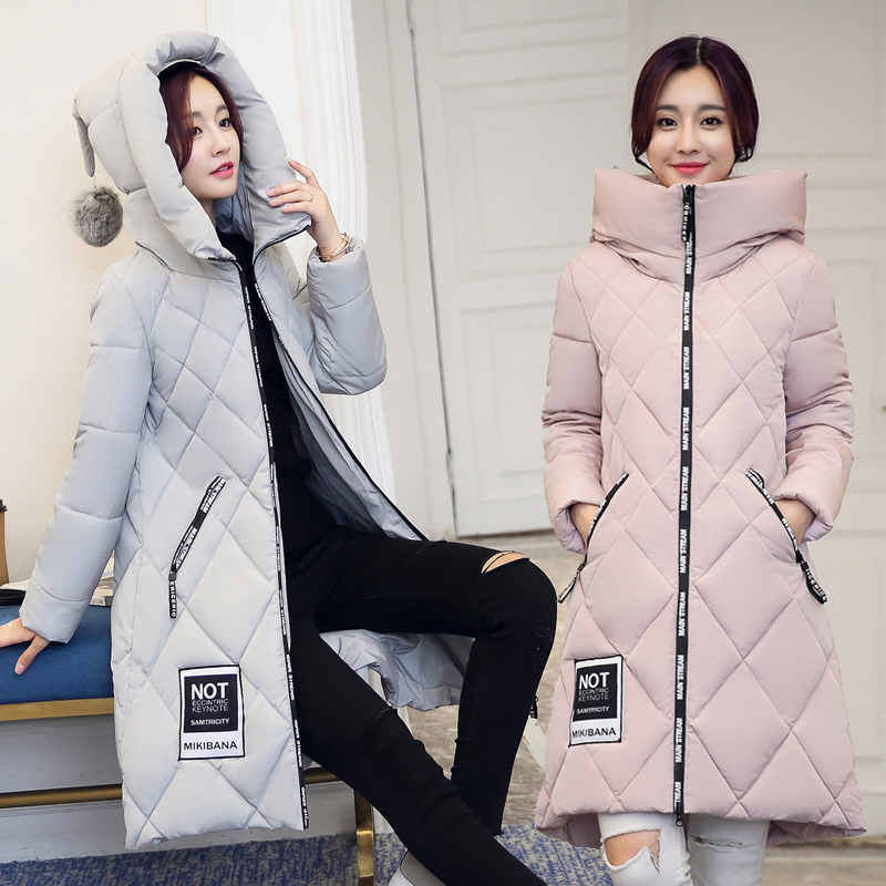 Winter Coat Women 2017 Wadded Jacket Female Long Plus Size Slim Winter Thickening Cotton-padded Parkas OuterwearОдежда и ак�е��уары<br><br><br>Aliexpress