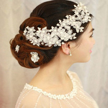 2016 New Arrival Hairwear Pearl Jewelry Bridal Hair Combs Hairpin Tiara Wedding Hair Accessories For Brides Wedding Accessories