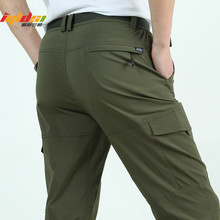 New Velvet Men's Tactical Pants Winter Trousers Outerwear Winter Thick Fleece Tactical Trousers Men's Waterproof Tactical Pants(China)