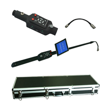 endoscope telescopic video cctv sewer pipe inspection camera with 23mm stainless steel camera head V5-TS1308D(China)