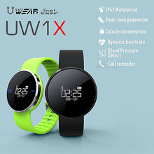 New Smart Wristband UW1X Heart Rate Smart Bracelet Heart Rate Monitor Smart Band Fitness Tracker Blood Pressure CE / ROHS /FCC