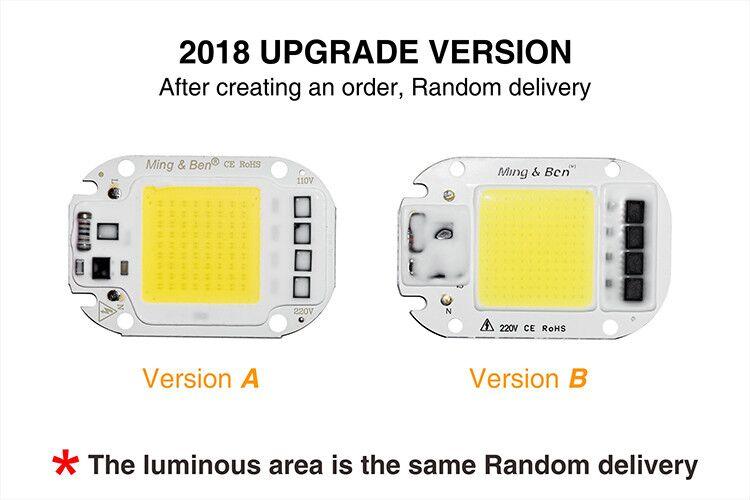 [MingBen] LED COB Lamp Chip 5W W 30W 50W 2V Input Smart IC Driver Fit For DIY LED Floodlight Spotlight Cold White Warm White 1