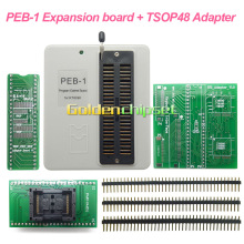 PEB-1 Expansion board+TSOP48 Adpater socket Use on RT809F lcd usb programmer Support IT8586E IT8580E 29/39/49/50 series32/40 /48(China)