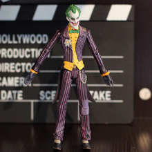 "Good PVC 7"" DC Roman Sionis Batman The Joker Action Figure Collectible Rotatable Robot Toy Boys Gift Free Shipping"