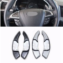 1set For Lincoln navigator MKX/MKC/MKZ/MKT/MKS modified special steering wheel shift paddles 3D in car interior(China)