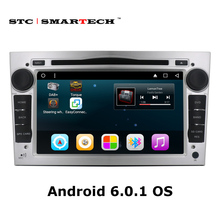 SMARTECH 2 din Android 6.0.1 Car radio GPS navigation head unit for Opel/Antara/VECTRA/ZAFIRA/Astra with CAN-BUS DVD player Wifi