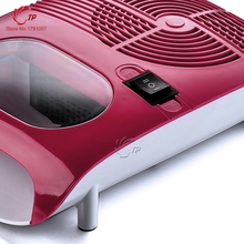 Hot & Cold Air Nail Dryer/Blower Manicure for Drying Nail Polish & Acrylic Beauty Red Color 220V EU Tool Fan